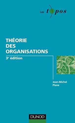 En ligne téléchargement gratuit Théorie des organisations - 3ème édition (Les Topos) pdf, epub ebook