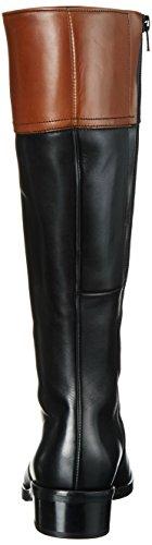 Gabor Shoes Comfort Sport, Stivali da Equitazione Donna Multicolore (schw/Caram.micro)