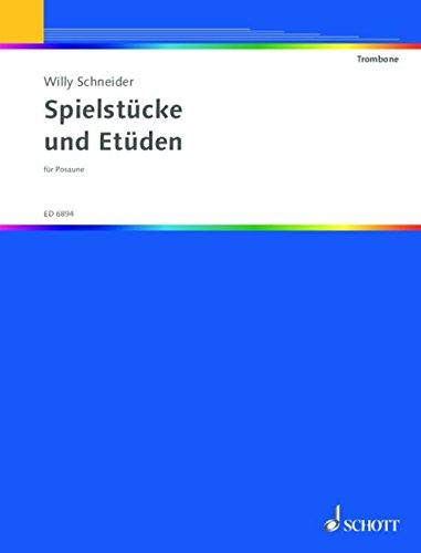 Spielstucke & Études Trombone