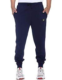 VIMAL Jonney Men's Navy Blue Cotton Trackpants-D8NAVY-P