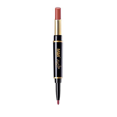 Lippenstift,Double-End Dauerhafte Lipliner Wasserdichte Lipliner Stick Pencil 16 Farbe -