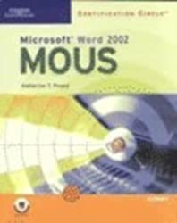 Certification Circle: Microsoft Office Specialist Word 2002: Expert