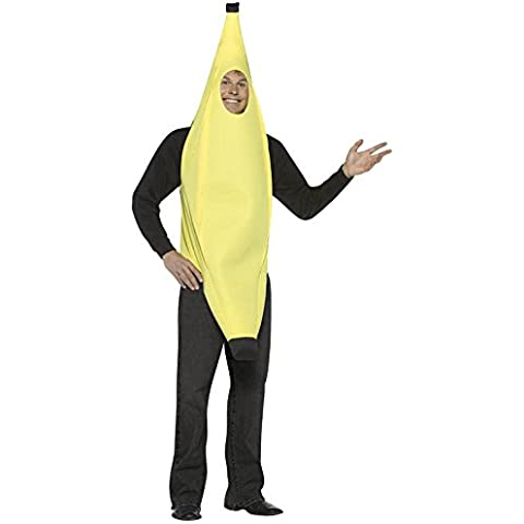 Disfraz Banana hombre. plátano divertido. Carnaval Halloween