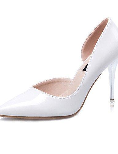 WSS 2016 Chaussures Femme-Décontracté-Noir / Bleu / Violet / Rouge / Blanc / Gris-Talon Aiguille-Talons-Talons-Laine synthétique black-us7.5 / eu38 / uk5.5 / cn38