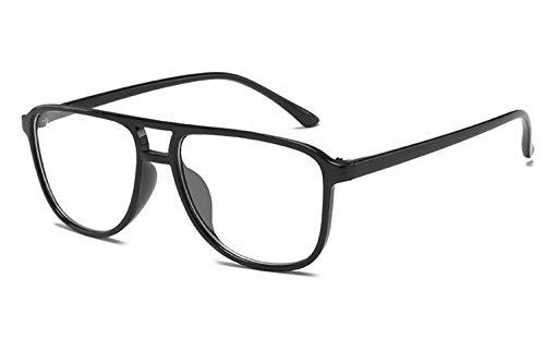 Alittle Unisex Klassisch Metall Runden Felge Komfortabel Brille Kurzsichtig Kurzsichtigkeit Brillen Harz Löschen Linsen(Diese sind nicht Lesen Brille)