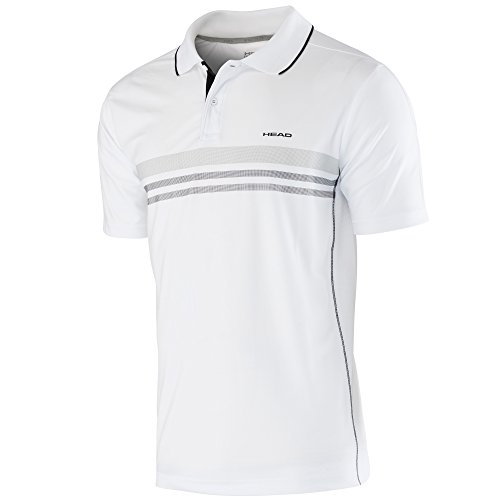 Head Boy's Club Polo technique Blanc