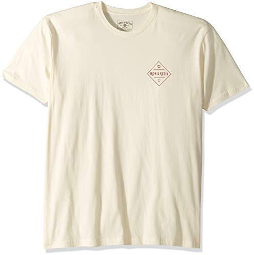 Iron & Resin Solimar T-Shirt aus Eisen und Harz, Herren, Solimar Tee, Natur, XX-Large