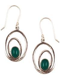 Sangeeta Boochra Silver Jhumki Earrings for Women (sce-7628)