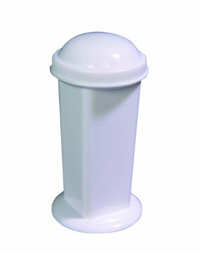 Thomas 62101Polypropylen Flecken COPLIN Jar, mit gewölbtem und flach Gewinde Schraube Gap (12Stück) (Jar Coplin)