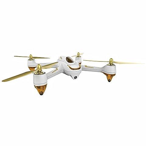 Hubsan H501S X4 Brushless FPV Quadricoptère Drone GPS avec Caméra 1080P HD 5.8Ghz(Blanc)