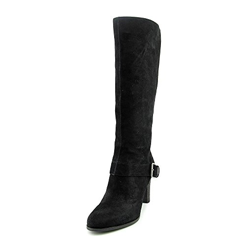 Nine West Niston Femmes Daim Botte Black