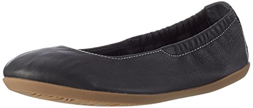 Softinos Ona380sof Smooth, Ballerines femme Schwarz (Black)