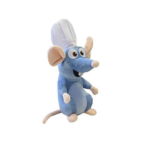 Felpa Plush Ratatouille Rémy 35cm Rata con Gorro de Cocinero Chef de la película Original Oficial Disney 8