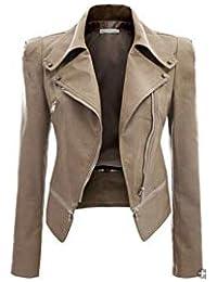 Fein Winter Herbst Neue 2019 Neue Leder Kleidung Mantel Frauen Oberbekleidung Motorrad Schlanke Mode Leder Jacke Frauen Mädchen Gelb Mäntel Haus & Garten