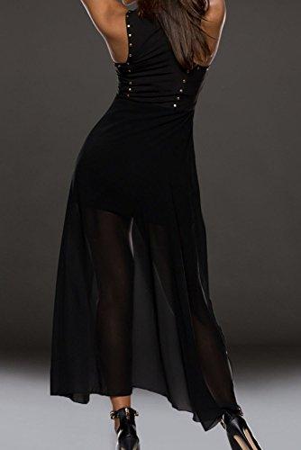 E-Girl femme Noir SY6541 Tenue De Soiree Noir