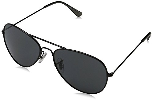 Sunglasses mixte adulte Washington Montures de lunettes, Noir (Matt Black/Smoke 001), 47