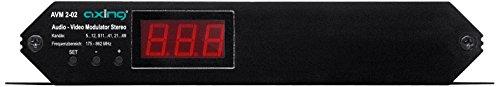 Video-modulator (Axing AVM 2-02 Audio/Video-Modulator VHF UHF Sonderkanäle (Stereo, SCART))