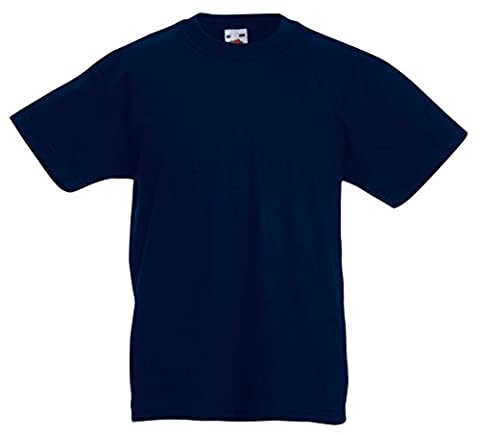 Fruit of the Loom Kids Original T Shirt - 21 Colours / Age 3-15 - Deep Navy - 34