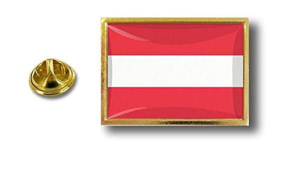 pins pin badge pin/'s metal  avec pince papillon drapeau autriche autrichien