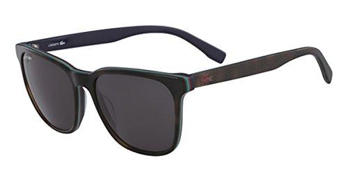Lacoste l833s 215 55, occhiali da sole unisex-adulto, marrone (medium havana)
