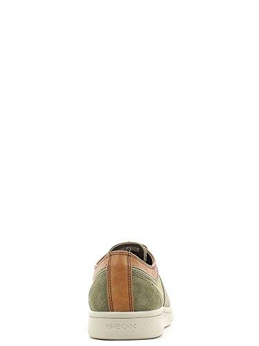 Geox Herrenschuhe - sportliche Halbschuhe - Schnürschuhe WARRENS Forest-Khaki