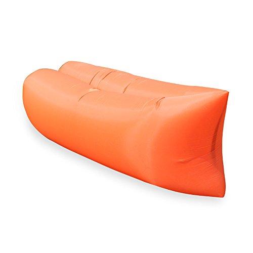 Mad sorrow divano letto gonfiabile all'aperto pigro materasso ad aria aria pausa pranzo sacco a pelo letto portatile per il tempo libero letto spiaggia letto