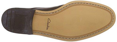 Clarks Chinley Walk Herren Derby Schnürhalbschuhe Braun (Walnut Leather)