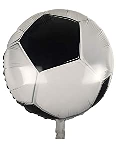 Boland BOL62516 - Globo de aluminio de fútbol, 45 cm