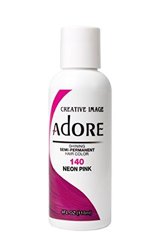 Creative Image Adore Semi-Permanent Hair Color (140 Neon Pink) by Adore