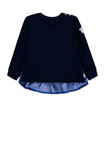 bellybutton-mother-nature-me Sweatshirt mit Volants Mädchen Navy Blazer,116