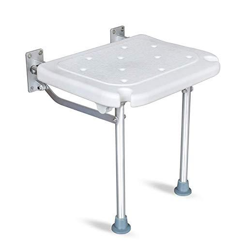 Isogea Sicherheitsbadhocker Schwangere Frauen Flush Duschstuhl Anti-Rutsch-Alter Duschhocker, höhenverstellbar Sicherheit und Haltbarkeit, Höhe 52 cm (Farbe : 1, Größe : -) -