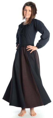 Mittelalterliche Kleid - HEMAD Mittelalter Rock S-XXXL Damenrock Baumwolle