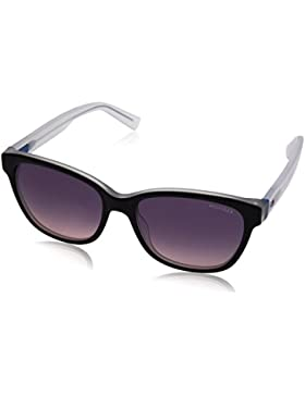 Tommy Hilfiger TH 1363/S O9, Gafas de Sol Unisex, Black Crystal Blue, 54