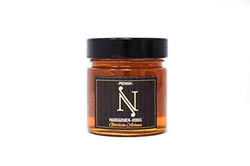 ENA HONEY Mandarinenblütenhonig 300g, ungefiltert, nicht erhitzt oder pasteurisierter, fruchtig-süß, direkt vom Imker ✅ ENA Honig ist ein 100 % reines Naturprodukt -