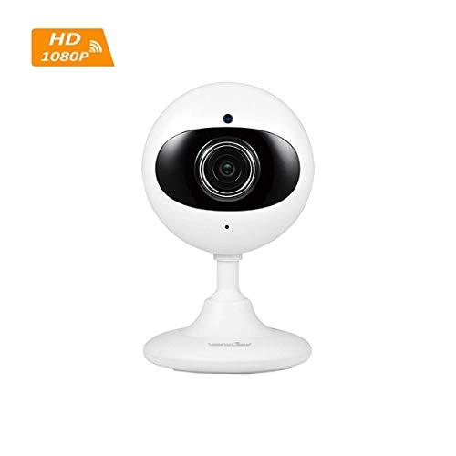 Wansview WLAN IP Kamera 1080P HD, Wireless Überwachungskamera als Baby/Ältere/Haustiere Monitor, mit Zwei-Wege Audio, Nachtsicht Funktion und deutsche App/Anleitung K3 (Weiß)