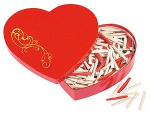 Liebes-Geschenk: Love-Heart - Herzbox - der Liebesbeweis mit Überraschung (Jeder Tag - neue Botschaft) zum Valentinstag