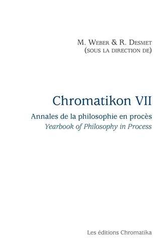 Chromatikon 7 : Annales de la philosophie en procès