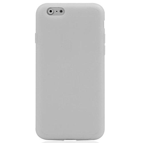 Phone custodia cover Per iPhone 6 & 6S, custodia protettiva TPU con schermo di tocco orizzontale a sfere ( Color : Blue ) Beige