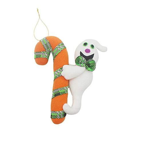 Naisidier Halloween Dekoration Requisiten kreative Halloween-Puppen Kleine hängende Tür hängend Mall Geschenk Puppe Anhänger 6