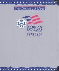 The Official U.S. Mint Morgan Dollars Coin Album: 1878-1890 (2001-06-01) (1878 Morgan-dollar)