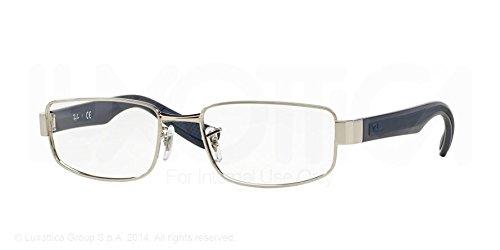 Ray Ban Optical Montures de lunettes RX6318 Pour Homme Silver, 52mm 2501: Silver