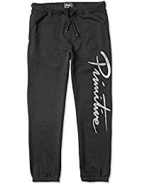 Primitive Mens Standard Fleece Pants Black