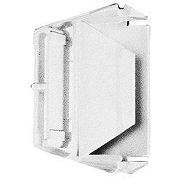 Frigidaire Kühlschrank Tür (215473602Kühlschrank Tür Regal Endkappe, rechts oder links, weiß Ersatz für Frigidaire, Kelvinator, Kenmore, Klimaanlagen, Tappan, Gibson, Electrolux.)
