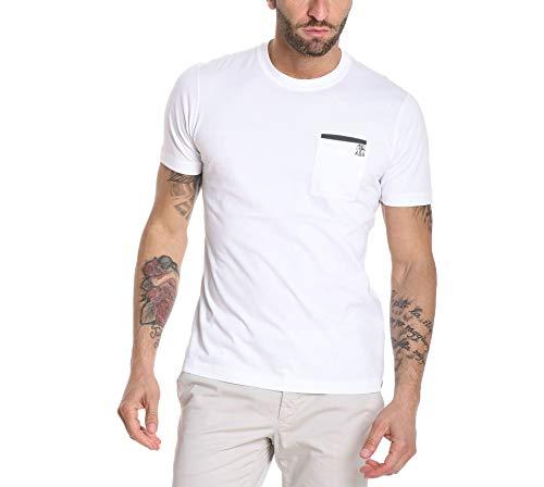 Brunello Cucinelli T-Shirt Uomo M0t611377gcj517 Cotone Bianco