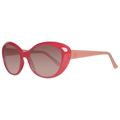 United Colors of Benetton Damen BE937S04 Sonnenbrille, Pink (Fucsa/Orange), 53