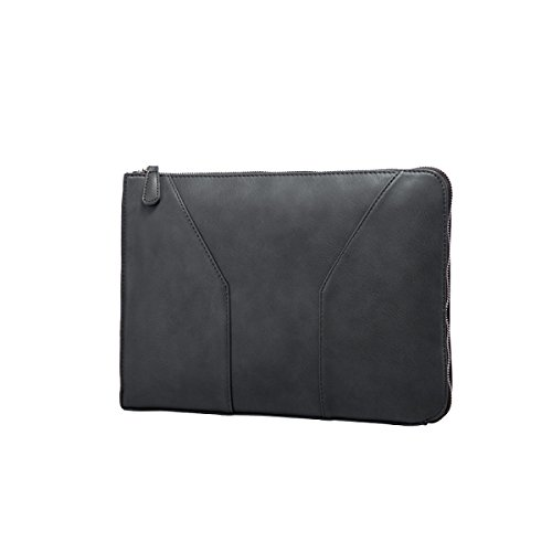 Yy.f New Male Bag Solid Wild Packet Leisure Clutch Shoulder Bag Solid Shoulder Bag Uomo 3 Colori Nero