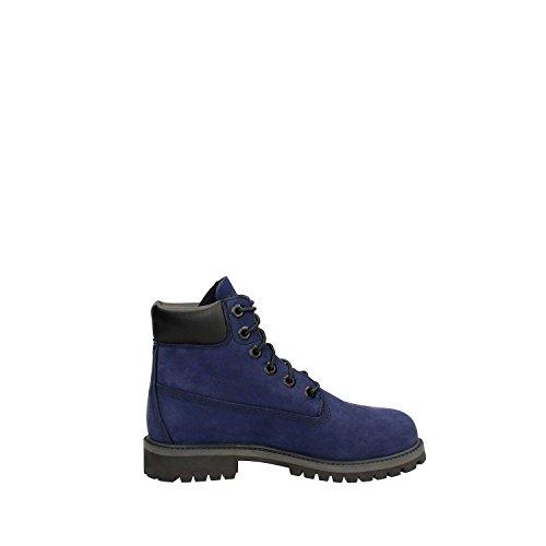 Timberland 6 In Premium Wp Boot A1mmr, Bottes et Bottines Classiques Mixte Adulte Bleu (Navy)