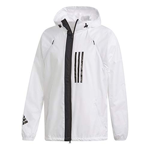 adidas Performance Herren WND Windbreaker weiß L - Adidas Windbreaker