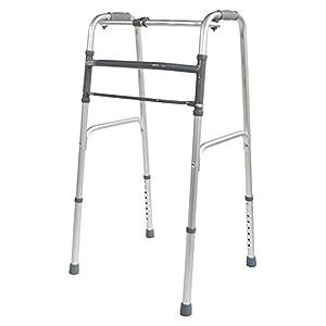 Aidapt Leichte Aluminium-Gehhilfe, zusammenklappbar (unwheeled oder Rädern)