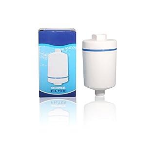 Duschfilter Schutz vor Kalk Aqmos Showerfilter Hautpflege Allergiker Haarpflege
